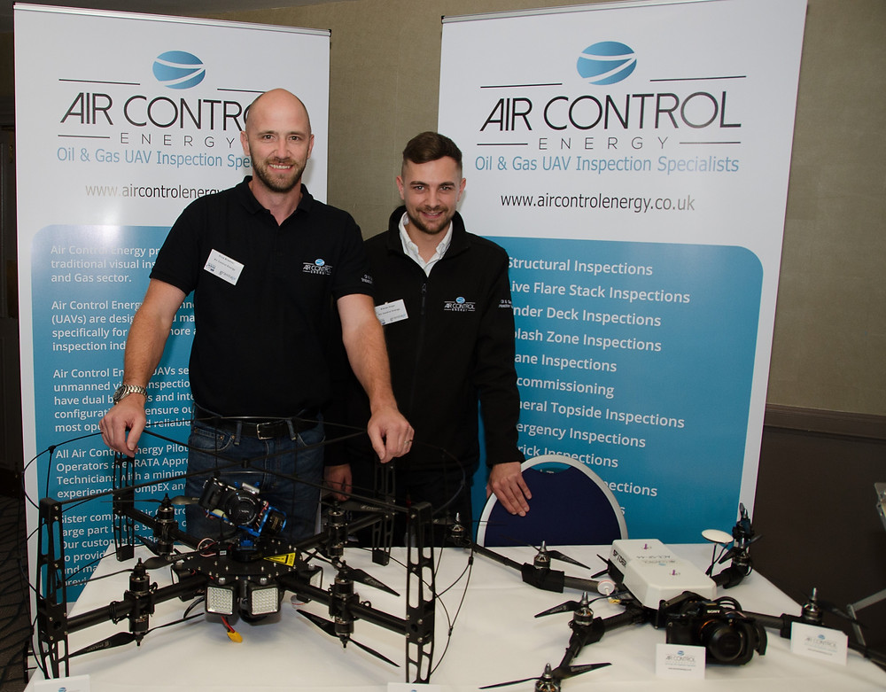 Air Control Energy - Managing Director Kieran Hope & Operations Director Drue Bremner