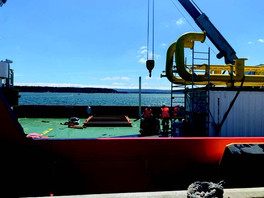 Vulcan Mobilises Cable Laying Vessel