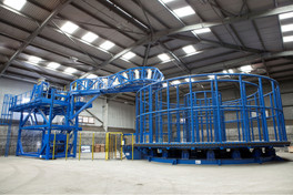 Ecosse Subsea Systems (ESS) has successfully designed, built and delivered a 700Te carousel to a maj