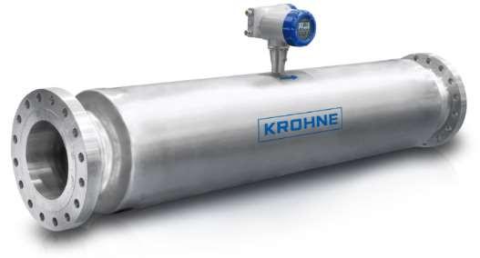 Figure 2: Design of Large Straight Tube Sensor Housing Coriolis Flowmeter