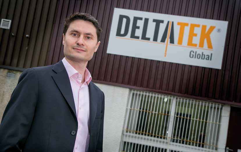 Tristam Horn, Chief Executive Officer and Founder of DeltaTek