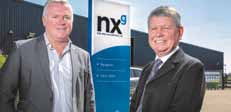 Top team … NXG Managing Director Rod Coffey, left, with former Weatherford UK Managing Director Ian McCartney.