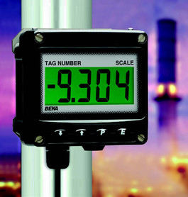 Less Expensive Alternative to Ex d Indicators with        Large Displays