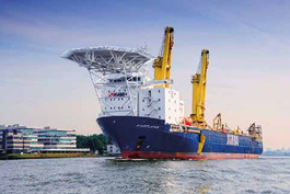 """ELA Container Offshore delivers Offshore Living Quarters to Jumbo """"Fairplayer"""""""