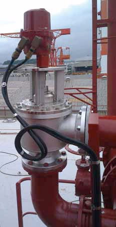 ROBUST AND ACCURATE ROTORK VALVE ACTUATION AT THE CENTRE OF ADVANCED OIL TANKER VOC EMISSION CONTROL