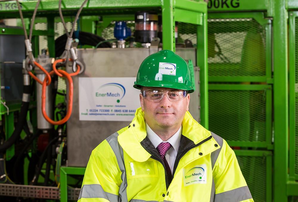 Chris Dixon, Director of Mechanical Handling Services,  EnerMech Ltd