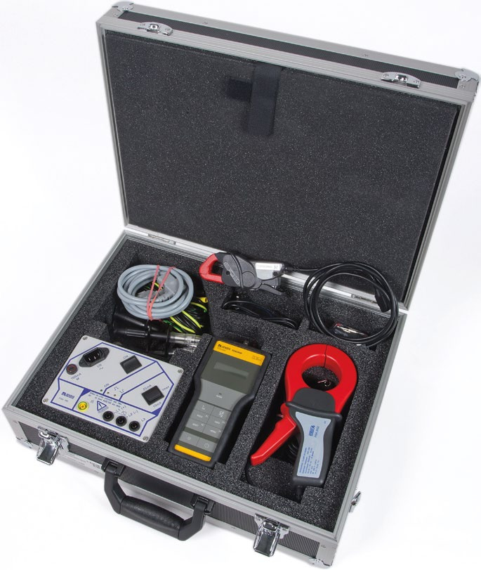 EDS3090 – Portable Fault Location Case used in combination with the Bender LIM