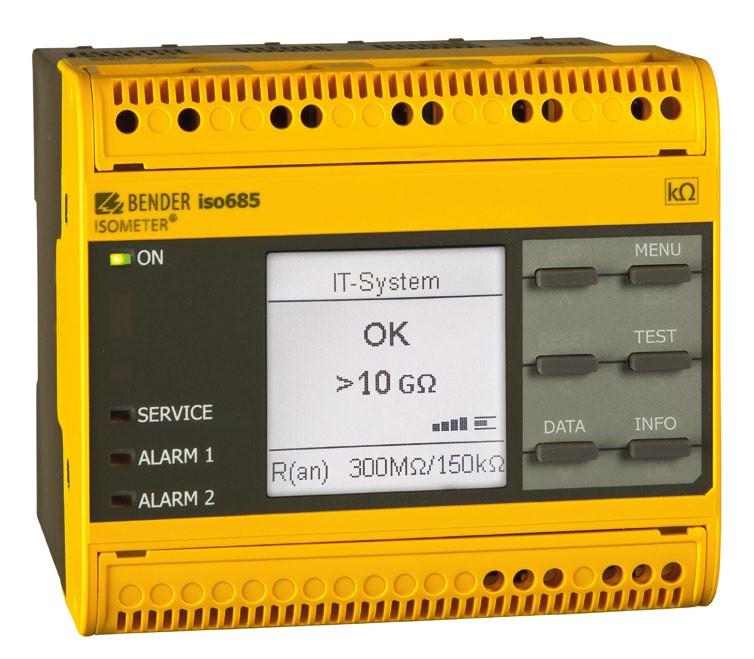 isoHR685 - Line Insulation Monitoring Device (LIM)