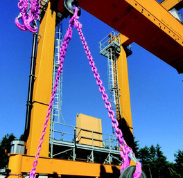 RUD Lifting Equipment & Conveyor & Drive Solutions for Offshore Oil & Gas Projects