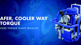 Maintain Productivity with HTL's Oil Cooled Hydraulic Torque Pump
