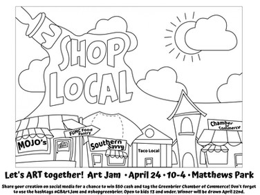 Chamber launches kids coloring contest