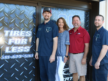The Tradition Continues -Tires for Less: September Business of the Month