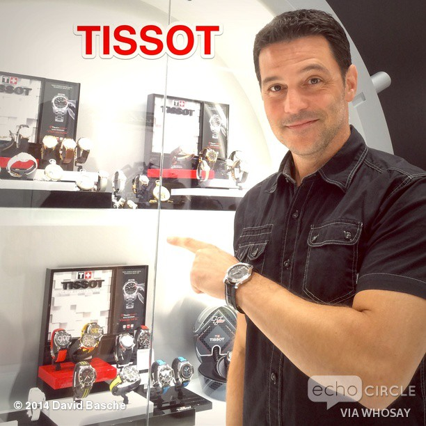 Have I mentioned lately how much I love my new _TISSOT Heritage Navigator_ Well I do! #FriendOfTheBr