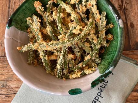 Frites de haricots verts, une recette pour faire manger des légumes aux enfants