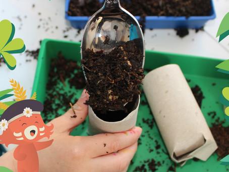 Activité enfant : fabriquer des godets  zéro déchet pour semis