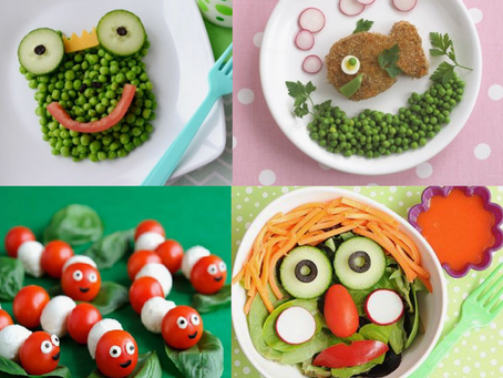 Comment faire manger des fruits et des légumes aux enfants ?