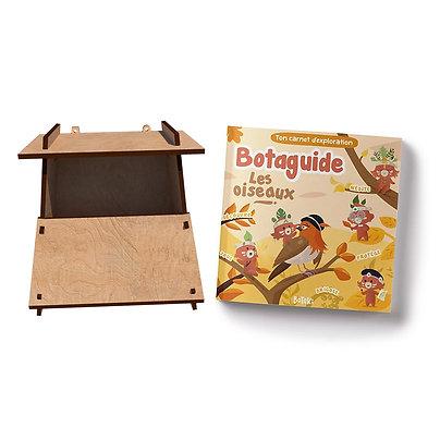 Kit Oiseaux | Fabrique ton nichoir à oiseaux