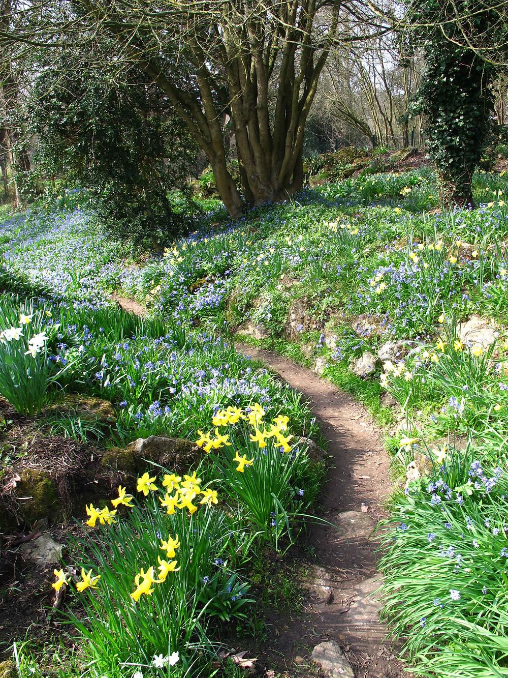 spring bulbs, easter garden visit, london,