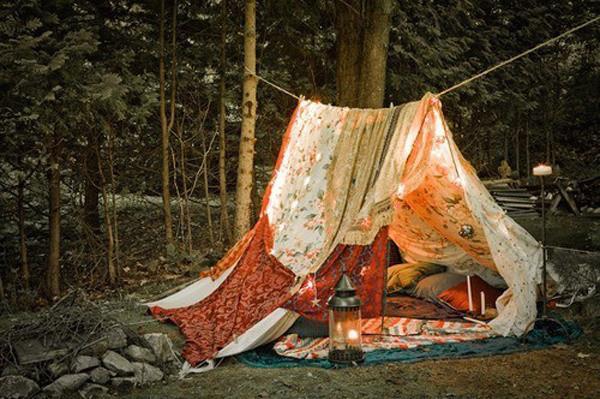 den, tent, diy, make your own hideaway,