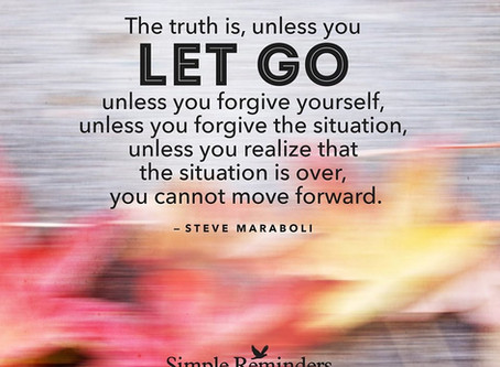 Learn to Let Go!