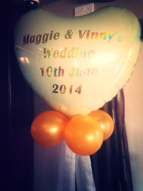 Personalised Foil Heart Balloon