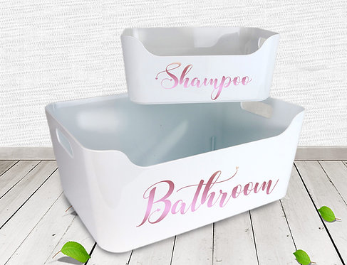 Personalised Storage Box (Small/Large)