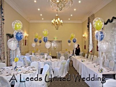 Leeds United Themed Wedding