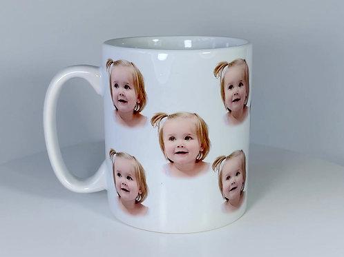 Custom Child/Baby Portrait Mug