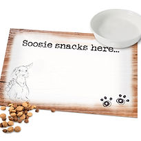 Personalised Scribble Bunny Placemat 1.j