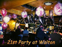 21st Party Balloons