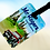 Thumbnail: 'Around the World' Luggage tag