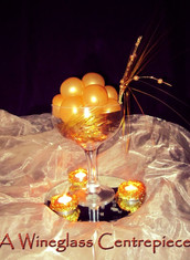 Wineglass Centrepiece