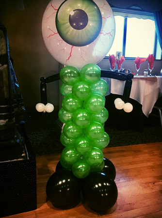 Scary Eye Balloon Character
