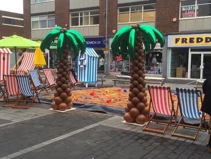 Balloon Palm Trees