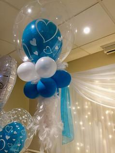Stuffed Balloon Bubble with Collar