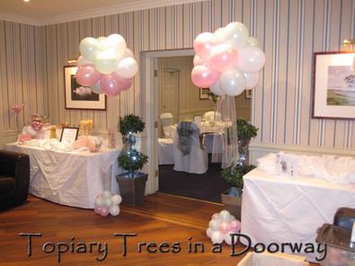 Balloon Topiary Trees
