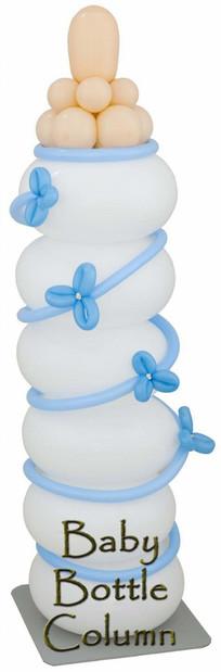 Balloon Baby's Bottle