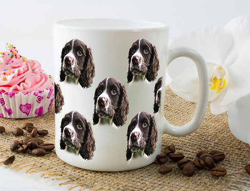 Custom Multiple Pet Portrait Mug