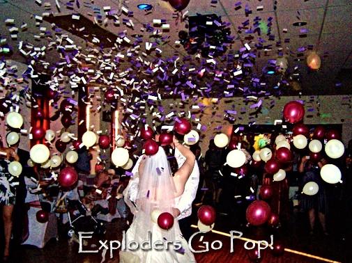 Exploding Balloon Displays