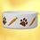"""Thumbnail: 'Carrots & Pawprints"""" Rabbit Bowl"""
