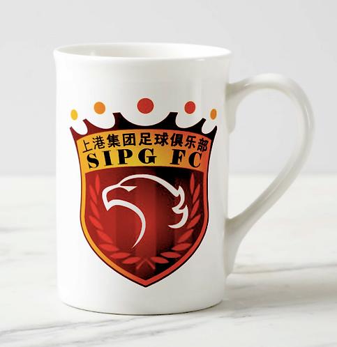 Bone China 'Windsor' mug featuring your logo on both sides