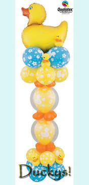 'Ducky' Balloon Column