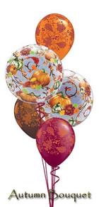Autumn Balloon Bouquet