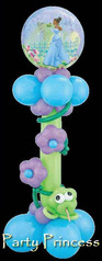 'Party Princess' Balloon Column