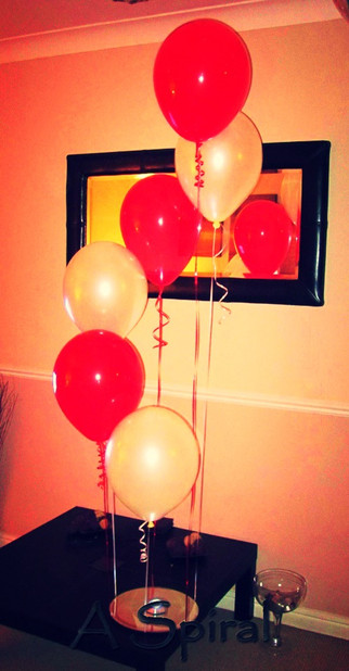 Spiral Balloon Display