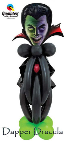 Balloon Dracula Figure