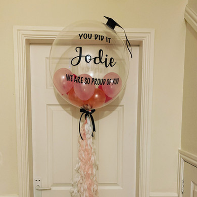 Personalised Graduation Deco Bubble Balloon