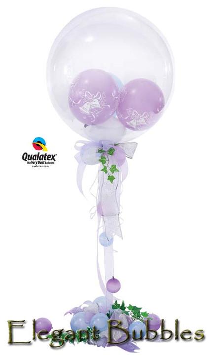 'Elegant Bubbles' balloon Display