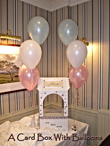Card Box with Balloons