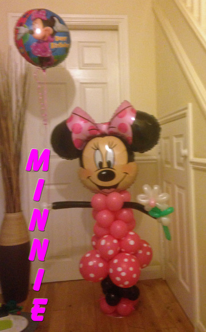 Balloon Minnie Mouse